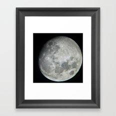 Moon 1 Framed Art Print