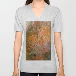 The surface of the planet Unisex V-Neck