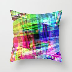 Apart, it rhymes with heart, but with a corkscrew. [RGB] Throw Pillow