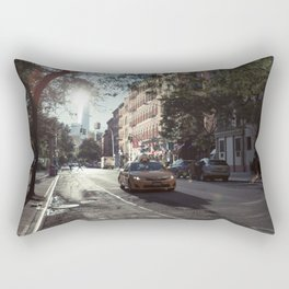 Manhattan Morning Rectangular Pillow