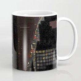New York City Night Skyline landscape by Georgia O'Keeffe Coffee Mug