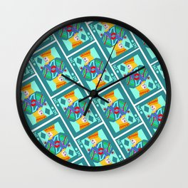 the king and I Wall Clock