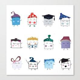 MyHappySquare Collection Canvas Print