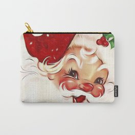 Vintage Santa 4 Carry-All Pouch