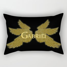 Archangel Gabriel Wings Rectangular Pillow