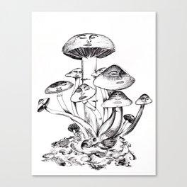 Troop (n.) Canvas Print