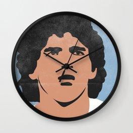 Diego Armando Maradona Argentine Vintage Version Wall Clock