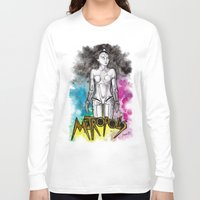metropolis Long Sleeve T-shirts featuring METROPOLIS by Dianah B