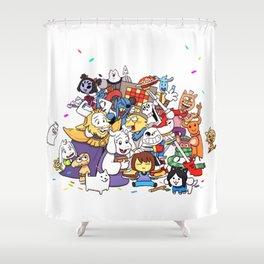 Undertale Shower Curtain
