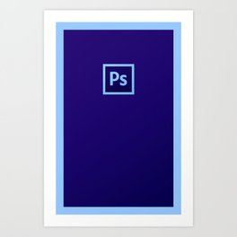 The New Photoshop Art Print
