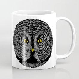 Round Owl Coffee Mug