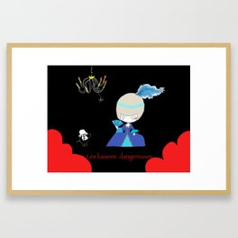 Dangerous Liaisons Framed Art Print
