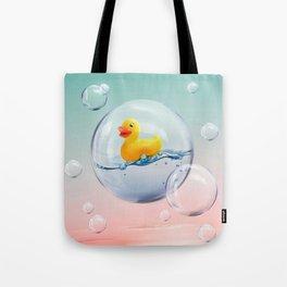 The Bubble Ducky Tote Bag