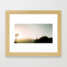 PS Sun Framed Art Print