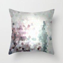 Hex Dust 3 Throw Pillow