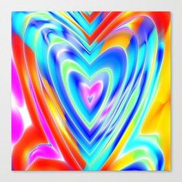 tie dye //2 Canvas Print