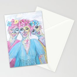 Love Peace & Joy  Stationery Cards