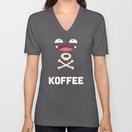Koffee Unisex V-Neck