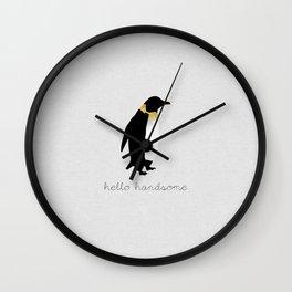 Hello Handsome Wall Clock