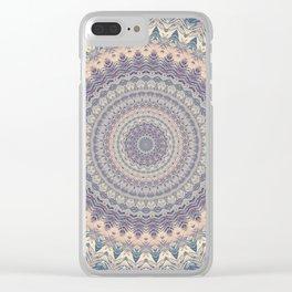 Mandala 594 Clear iPhone Case
