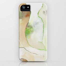 """""""Dream Without Fear"""" Original Painting by Flora Bowley iPhone Case"""