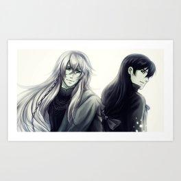 Undertaker and James Harvey Art Print