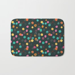 Painted Polka Bath Mat