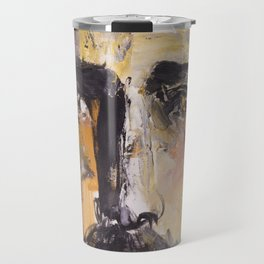 Christ with yellow eyes Travel Mug