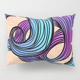 Abstract Line Art III Pillow Sham