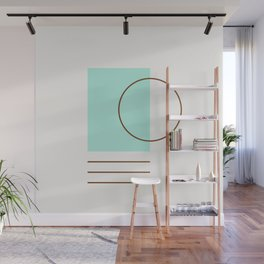 Balm 04 // ABSTRACT GEOMETRY MINIMALIST ILLUSTRATION by Wall Mural