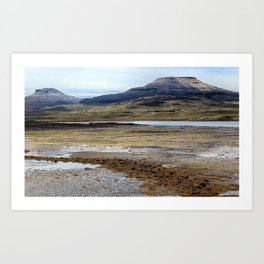 McLeods Tables on the Isle of Skye Art Print