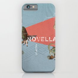 Novella- Mixed media iPhone Case