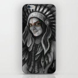 Tribe Girl iPhone Skin