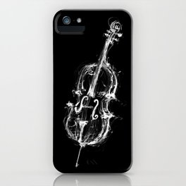 Black Cello iPhone Case