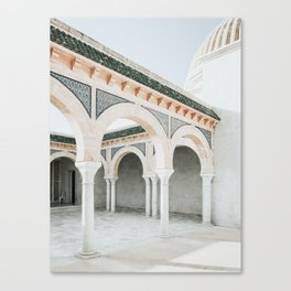 Mausoleum Of Habib Bourguiba Photo | Travel Photography | Monastir Tunisia Architecture Canvas Print
