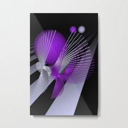 pink or violet -10- Metal Print