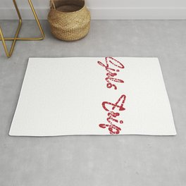 """Still out there looking for a nice gift this holiday?Grab this """"Girls Trip Cheaper Than Therapy"""" tee Rug"""