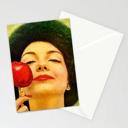 Apple On A Stick by Kathy Morton Stanion Stationery Cards