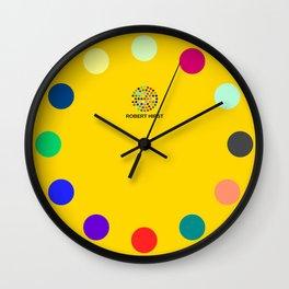 Robert Hirst Spot Clock Gold Wall Clock