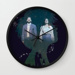 I am Closer Now to Finding Neverland Wall Clock