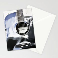 Be Your Song and Rock On in White II Stationery Cards