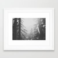 sunrise Framed Art Prints featuring Sunrise by Luke Gram