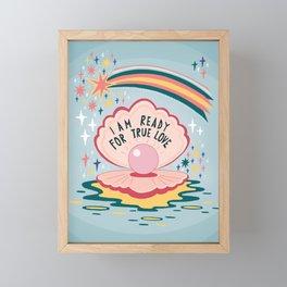 I am ready for true love Framed Mini Art Print