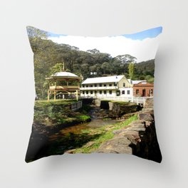Stringers Creek - Walhalla - Australia Throw Pillow