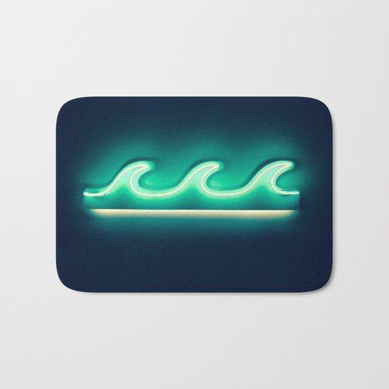 Waves (Neon) Bath Mat