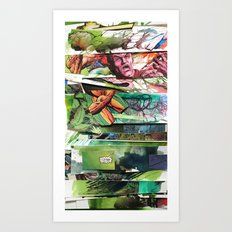 comic strips 2 Art Print