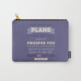 For I Know the Plans Carry-All Pouch