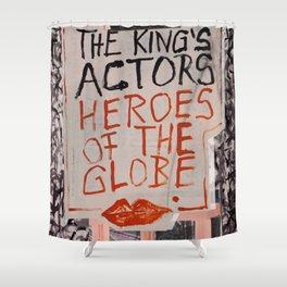 The Globe Kiss Shower Curtain