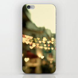 Looking for Love - Paris Hearts iPhone Skin
