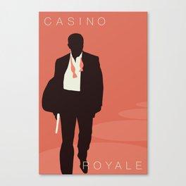 Minimalist Bond: Casino Royale Canvas Print